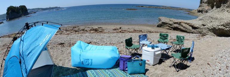 ビーチキャンプ