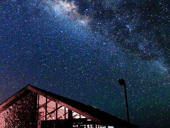 星空観測ツアー